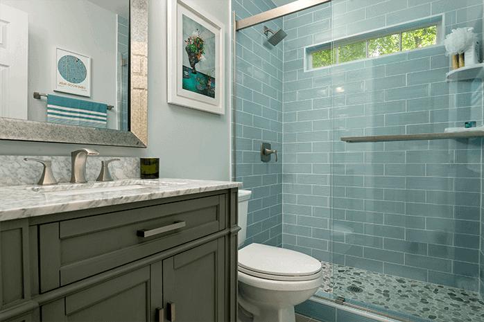 Bathroom Remodeling Atlanta Textured Tile