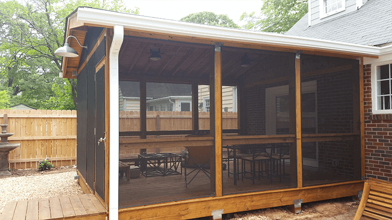 East Lake Screen Porch Addition